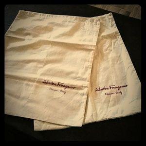 Authentic Salvatore Ferragamo Dust Covers
